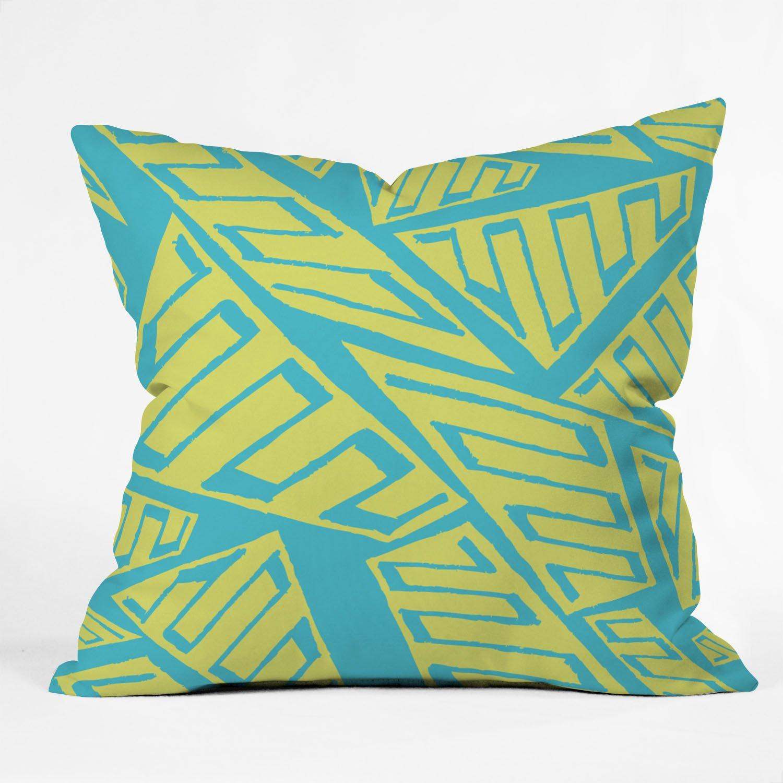 80 x 60 Fleece Blanket Kess InHouse Strawberringo Three Feathers Blue Gray Throw