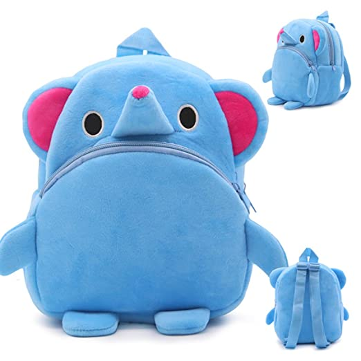 Latest Collection Of Blue Penguin Plush Backpacks Cartoon Toy Backpack Unisex Character School Bag Mini Schoolbag For 1-3 Years Dolls & Stuffed Toys