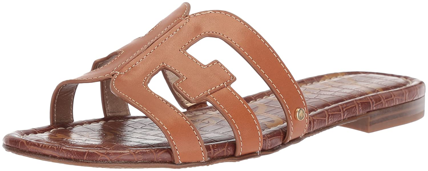 Sam Edelman Women's Bay Slide Sandal B0762SSBG4 6.5 B(M) US|Saddle Leather