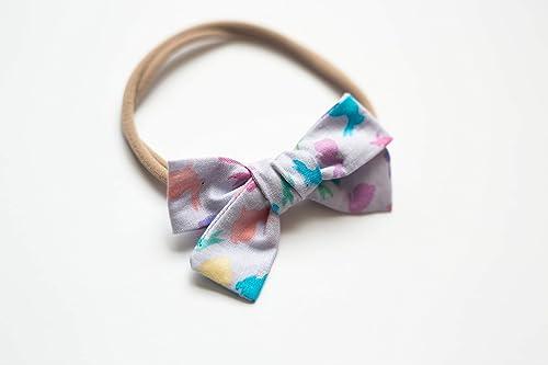 Handmade Hairbow Fabric Hairbow Baby Hairbow Headband