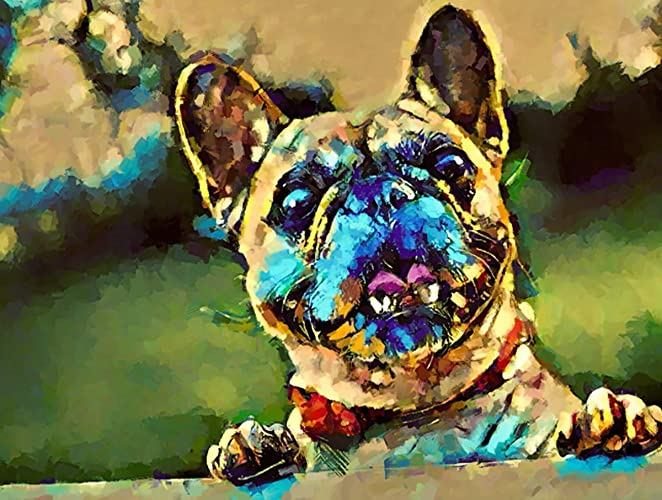e41b8c9c0588 Image Unavailable. Image not available for. Color: Custom Pet Portrait,  Christmas, Dog, Cat, Paintings, Print ...