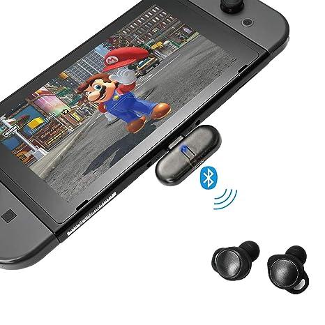 a3b670483a87cb GULIkit Adattatore Bluetooth per Nintendo Switch, Route+ USB C Wireless Bluetooth  Audio Trasmettitore con Aptx