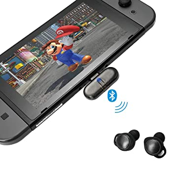 GULIkit Adaptador Bluetooth para Nintendo Switch, Route+ USB C Wireless Bluetooth Audio Transmisor con Aptx