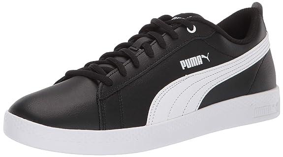 PUMA Smash Wns V2 Leather, Scarpe da Ginnastica Donna: Puma