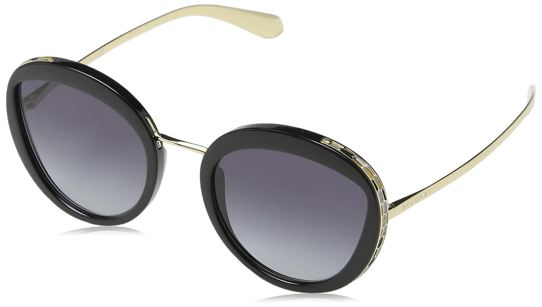 Amazon.com: Bvlgari Mujer bv8191 anteojos de sol, 52-21-140 ...