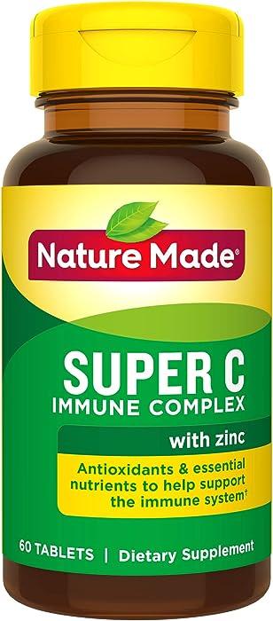 Top 9 Super C Immune Complex Nature Made