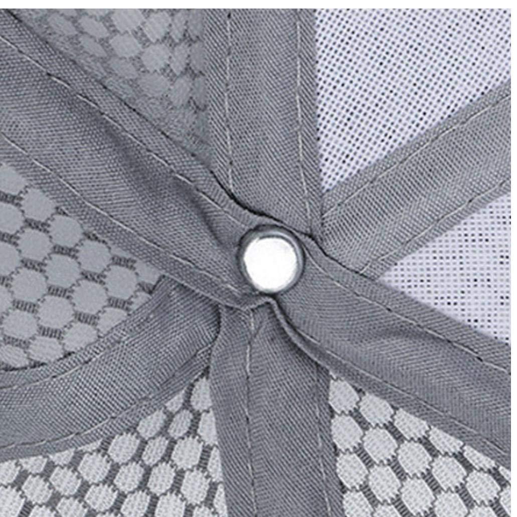 UNISEC Acoplamiento Suave Gorras De B/éisbol Del Casquillo Respirable Pesca Deportiva Sombrero De Sol De Secado R/ápido Al Aire Libre Ligero Llano