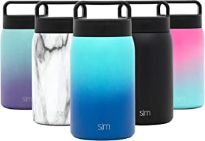 Simple Modern Provision Insulated Food Jar with Handle Lid - 24oz Vacuum Insulated Stainless Steel Thermos Leak Proof Storage Container Flask for Adults, Men and Women Ombre: Pacific Dream