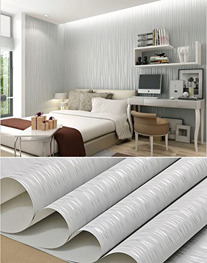 Amazon.com: Modern Style Peel and Stick Wallpaper Roll Self Adhesive ...