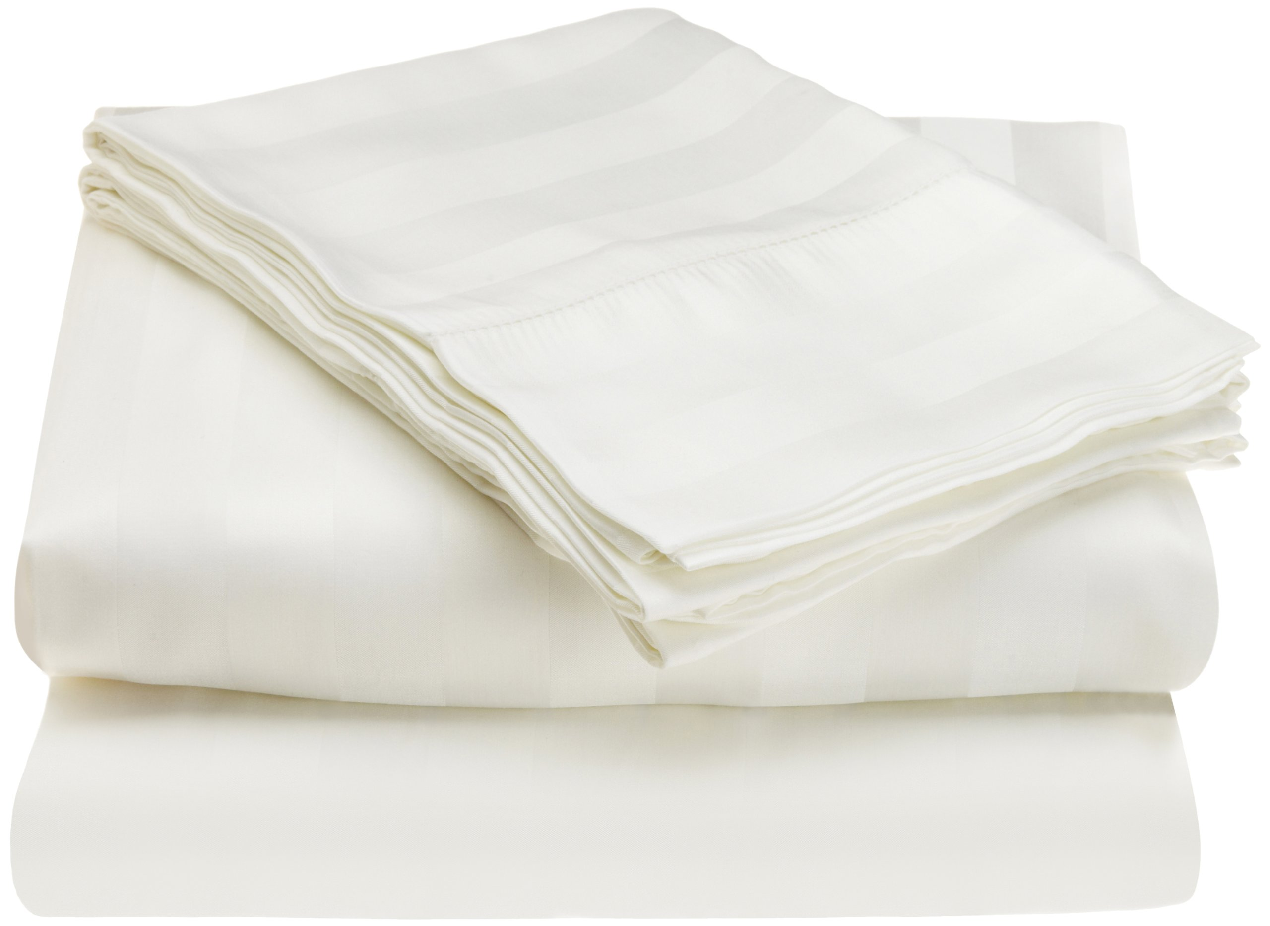 Tuscany Fine Linens Livorno 100-Percent Beechwood Modal Cal King Sheet Set, White by Tuscany Fine Linens (Image #1)