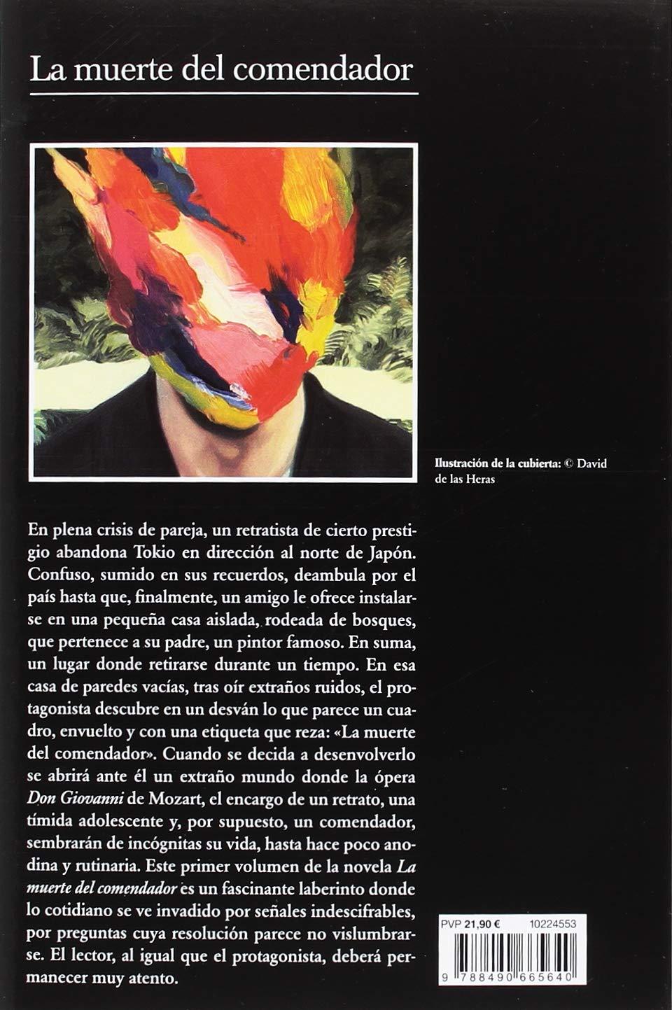 La muerte del comendador (Libro 1): Haruki Murakami: 9788490665640:  Amazon.com: Books
