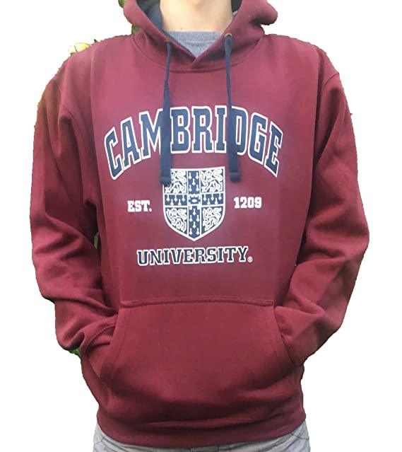 La Universidad Oficial de Cambridge Embroma la Sudadera con Capucha - Ropa Oficial de la Universidad Famosa de Cambridge: Amazon.es: Ropa y accesorios