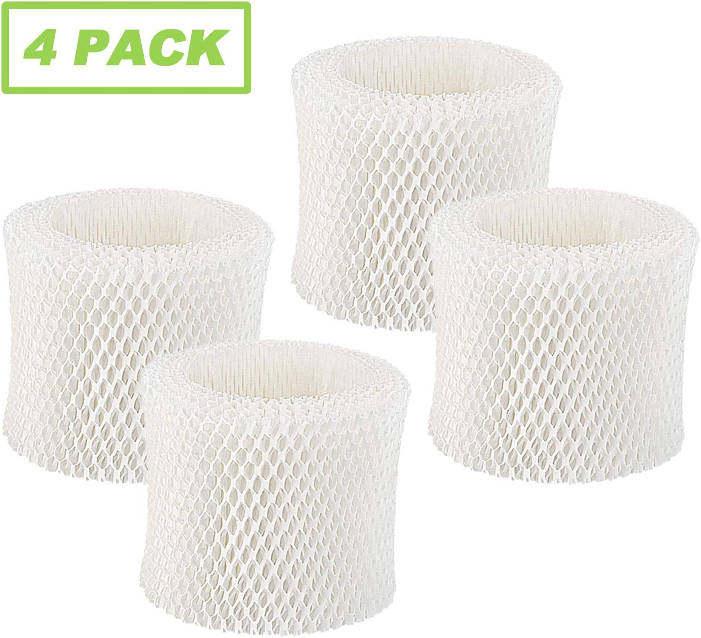 IOYIJOI Humidifier Filter for Honeywell HAC-504, HAC-504AW Series and Filter A, HCM-300, HCM-500, HCM-600, HCM-700, HCM-1000, HCM-2000 and Other Cool Mist Humidifiers (4 Pack)