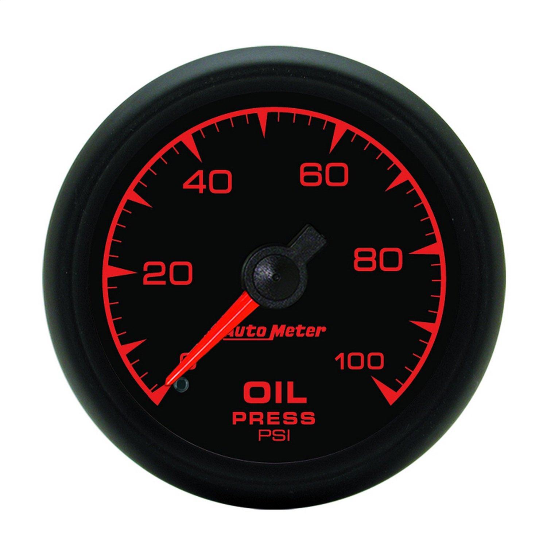 Auto Meter 5921 ES 2-1/16' 0-100 PSI Mechanical Oil Pressure Gauge