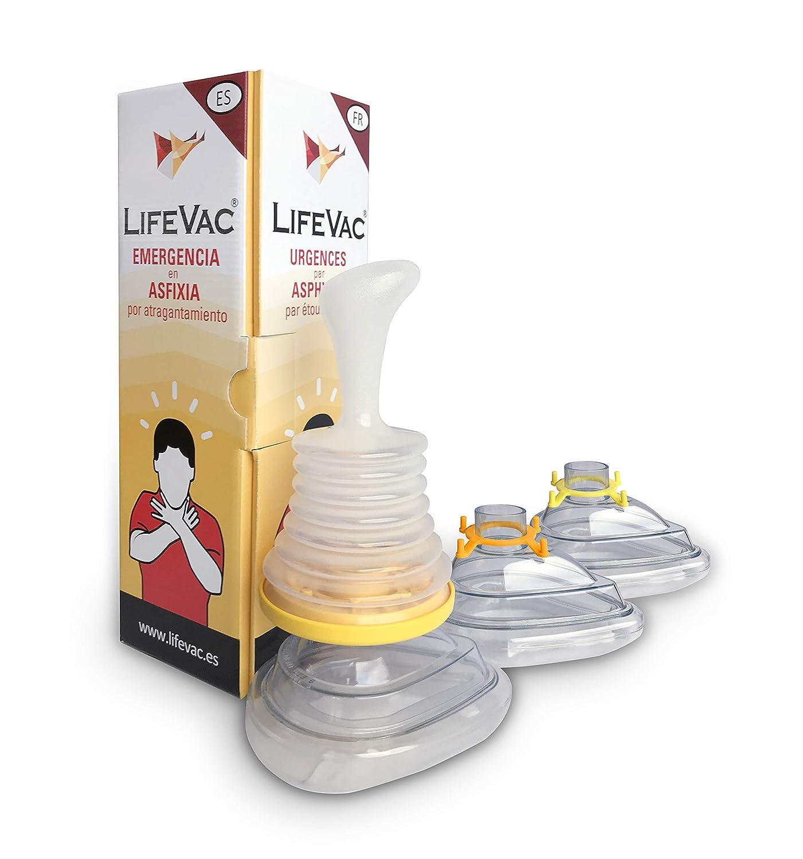 LifeVac Emergencia En Asfixia Por Atragantamiento 500 g