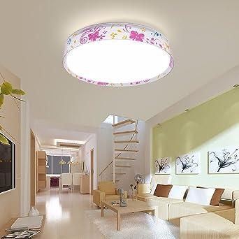 KHSKX Moderno dormitorio luces LED, lamparas de techo, sala ...