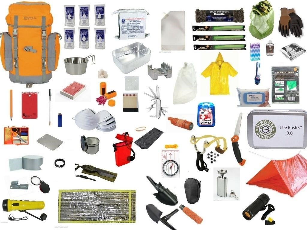 72 Hour Bug Out Bag Survival Backpack Kit Zombie Emergency 3 Day Disaster Pack USA Seller