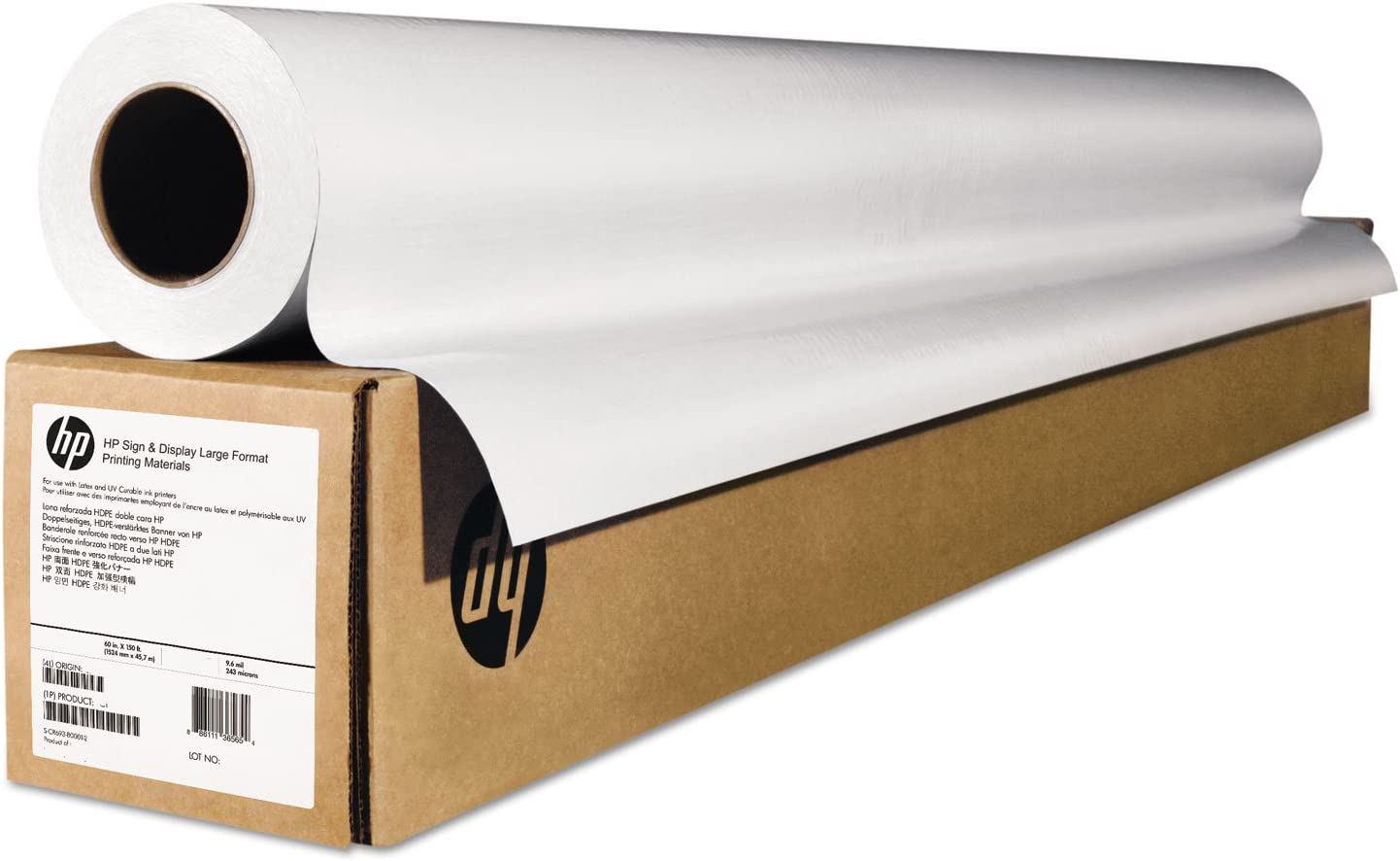 HEWE4J56B - HP Wide-Format Matte Canvas Paper Roll