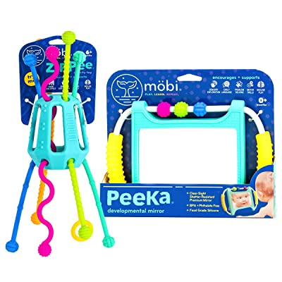 Kaplan Early Learning Company Mobi Peeka and Zippee Set: Toys & Games