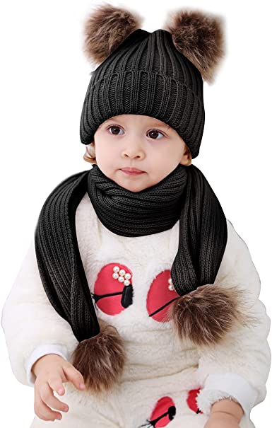 Cute Toddler Kids Girl/&Boy Baby Infant Crochet Knit beanie cap Minnie Mouse