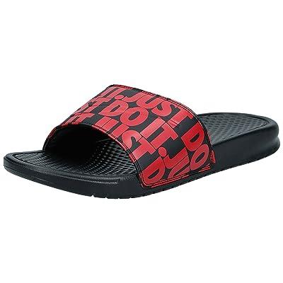 Nike Benassi Just Do It. Print Mens Mens 631261-025 | Fashion Sneakers