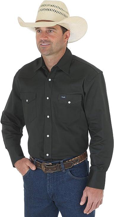 Wrangler MS70719 Camisa para Hombre, Selva negra verde, 3X-Large: Amazon.es: Ropa y accesorios