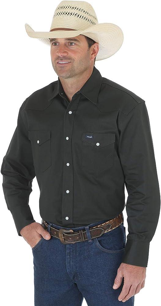 Wrangler MS70519 Camisa para Hombre, Rojo, 3X-Large: Amazon.es: Ropa y accesorios