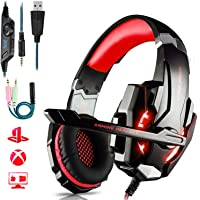 Auriculares Gaming PS4,Cascos Gaming de Mac Estéreo