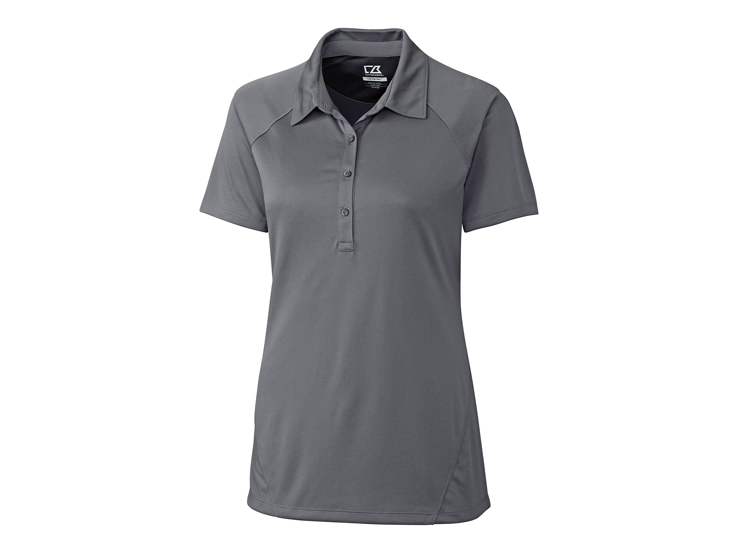 Cutter & Buck LCK08648 Womens Lacey Polo, Elemental Grey-XL by Cutter & Buck