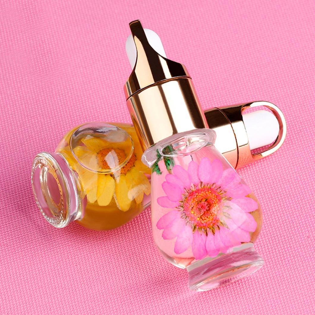 Dolloress Beauty Nail Belleza Uña ⭐Pinpai 15ml Mix Taste Dried Flowers Random Color Pen Nail Art Care Treatment Manicure Cuticle Oil