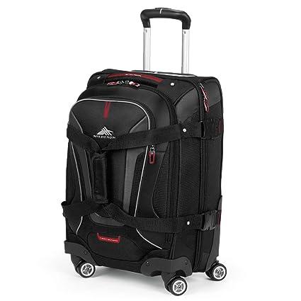 70fa97648 Amazon.com: High Sierra AT7 Spinner Luggage 22 inch, Black: Sports ...