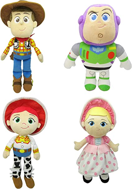 """Toy Story 4 WOODY JESSIE Doll 15/"""" Action Figure Soft toy plush"""