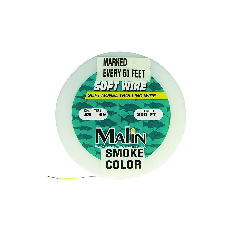 Amazon.com : Malin PM40-300 Pre-Marked Monel Wire, 300-Feet, .24 Dia ...