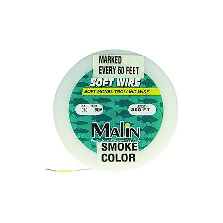Malin PM40-300 Pre-Marked Monel Wire, 300-Feet, .24 Dia, 40-Pound