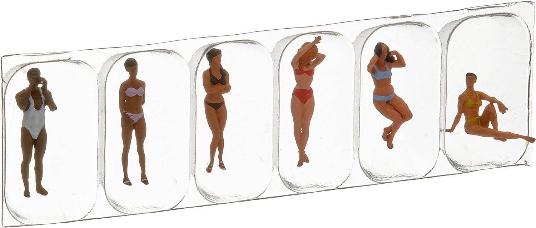 Preiser 10306 Recreation /& Sports Swimming People pkg 6 HO Scale Figure