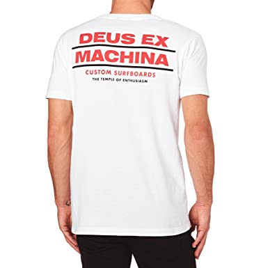 Deus Ex Machina T-shirts - Deus Ex Machina Neptune T-Shirt - White