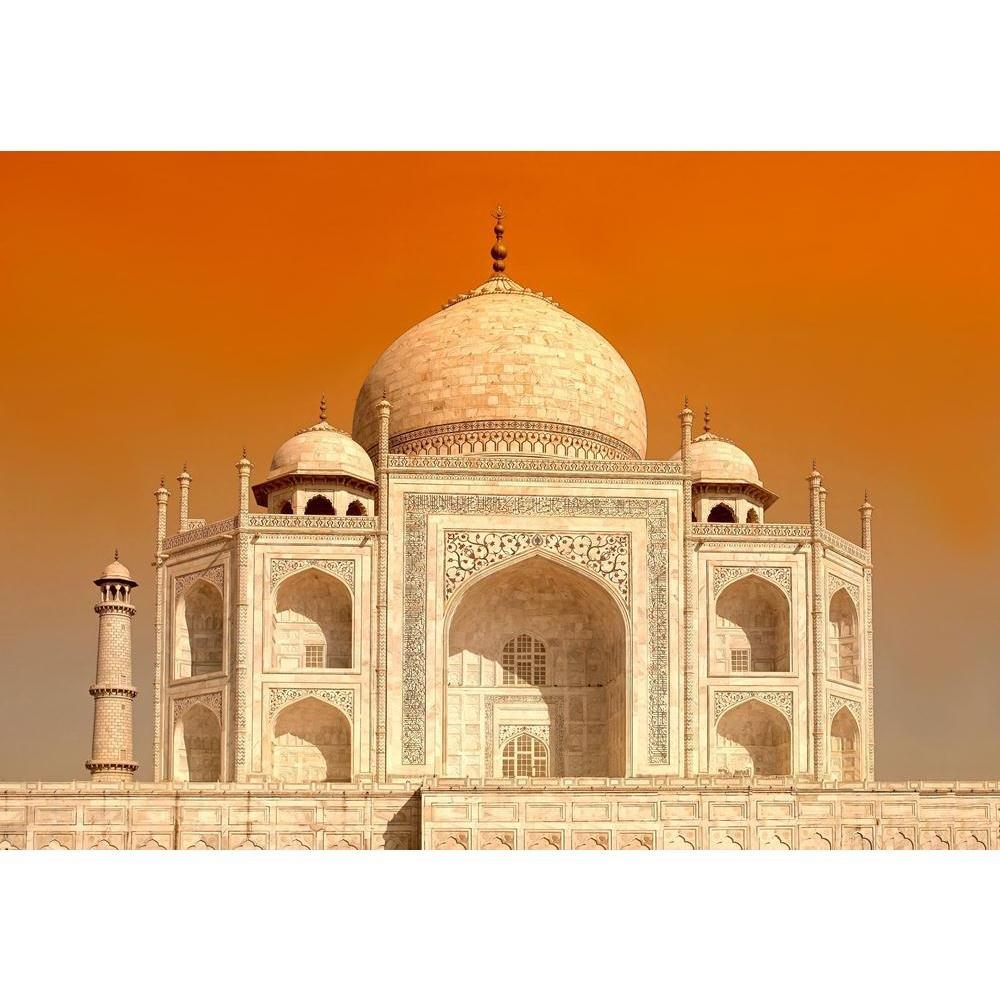 PB Taj Mahal Canvas Painting 6mm Thick MDF Frame 17.2 x 12inch ...