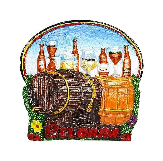 zamonji Cerveza Belga, Bélgica | 3D Imanes para Refrigerador Imán ...