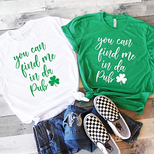 Pattys Day St Lets Get Lucked Up Shirt St Patricks Shirts Drinking Tees Cute St Patricks Day Shirt BFF Matching Tees Drinking Shirts St Patricks Outfit