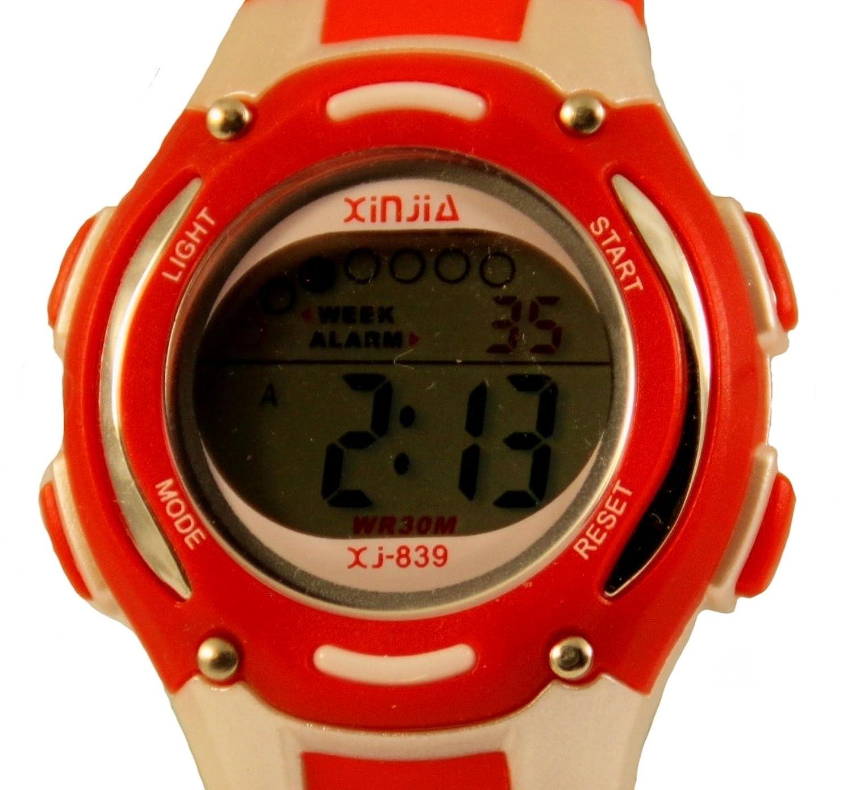 Quarzo digital unisex multifunzione orologio plastica band per donna uomo ma anche rossa bambini pi grandi amazon it orologi
