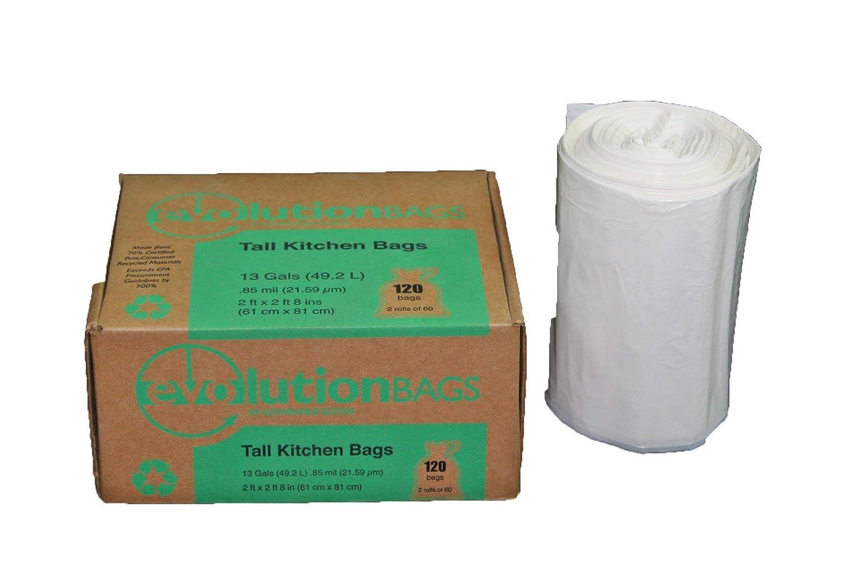 Amazon.com: Evolution Bolsas para la basura grandes, 120 ...