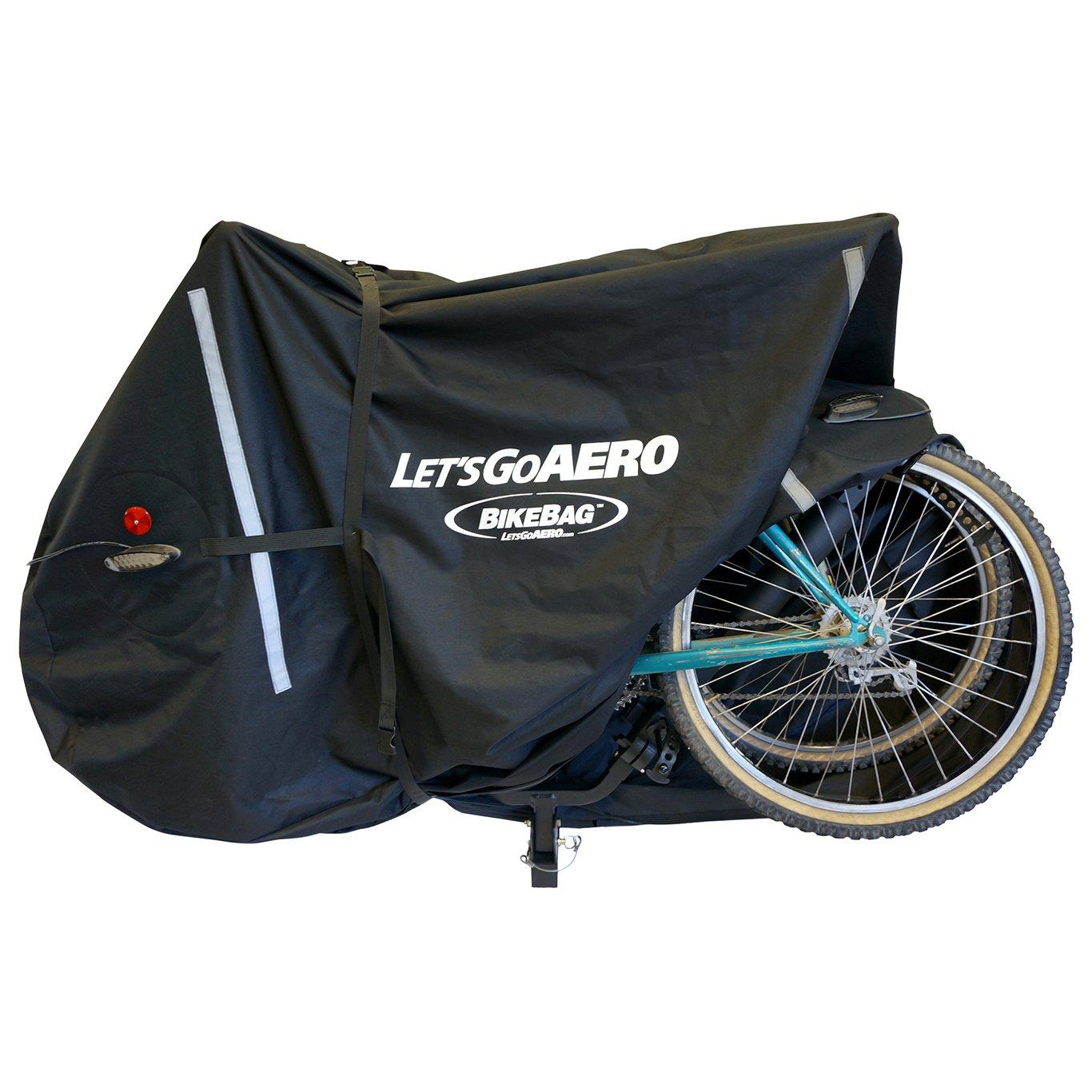 Let's Go Aero BikeBag 2-Bike Cover With LED