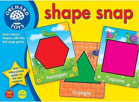Orchard_Toys Shape Snap - Juego para aprender las formas (en inglés): Amazon.es: Juguetes y juegos