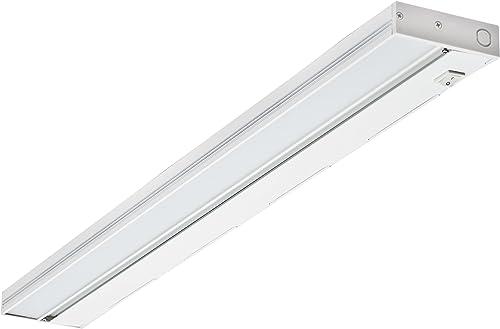 NICOR Lighting NUC-4-30-DM-W-4W LED Undercabinets, 30 inch, White