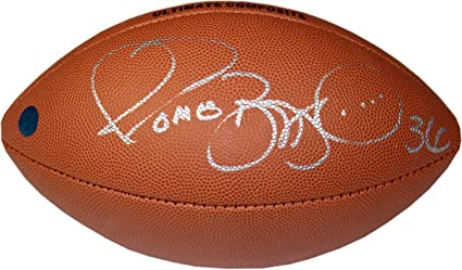 f7b37032f Jerome Bettis Signed NFL Wilson Composite Football - Pittsburgh Steelers  (AJ Sports Auth)