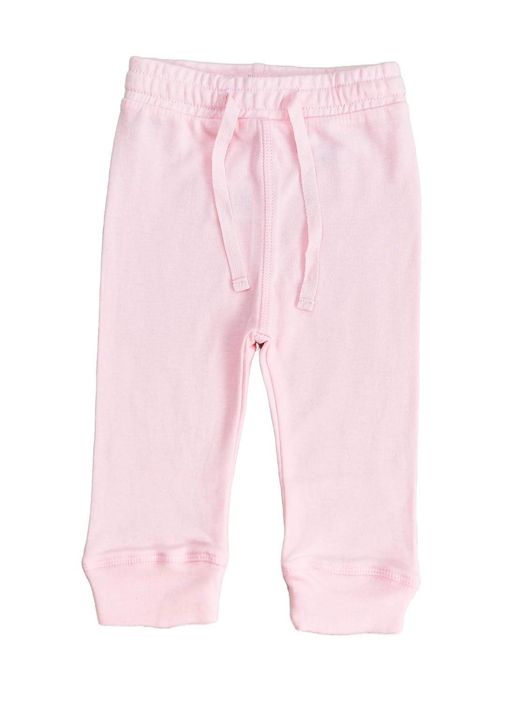 Rolly Pollies Baby Girls Pink Pants Organic Cotton