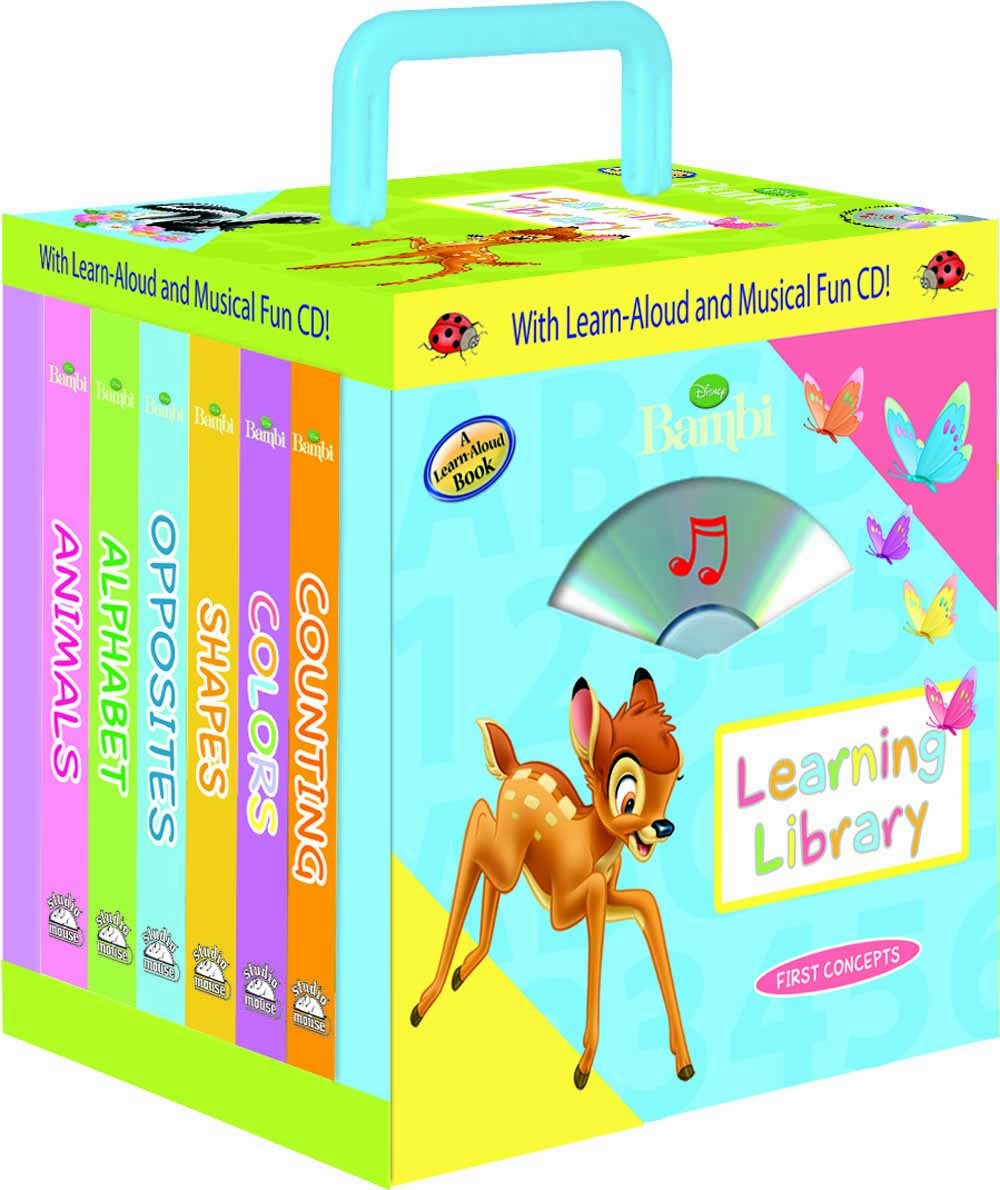 Download Disney Bambi Learning Library 6- books Travel Pack (with audio CD and carrying case) pdf