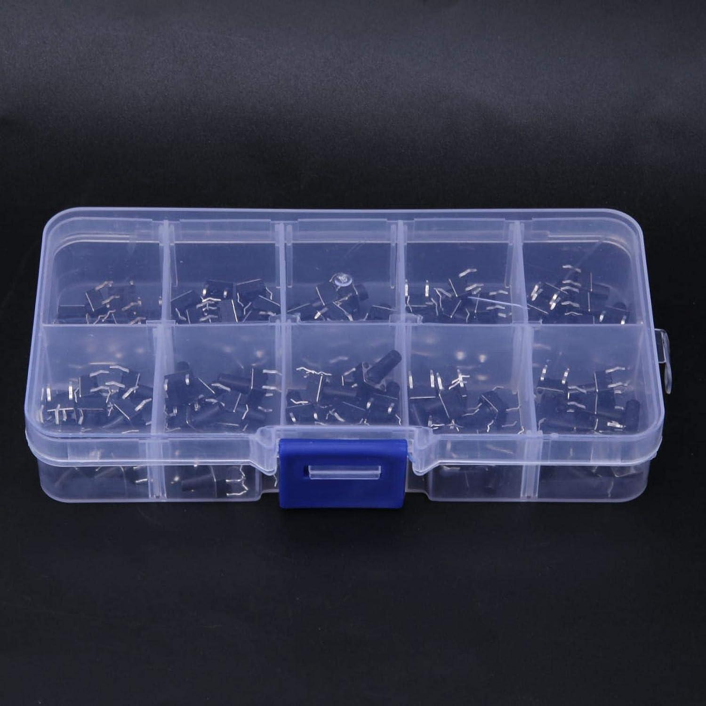 100pcs 10 Value 6x6x4.3-13mm Pulsador t/áctil Micro Interruptor Interruptor de tacto moment/áneo impermeable para electrodom/ésticos 、 Juguetes Products Productos electr/ónicos