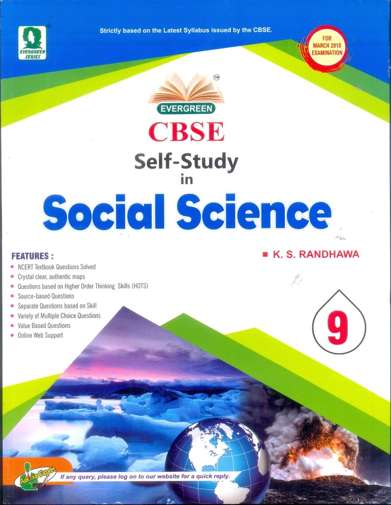Amazon.in: Buy CBSE Self-Study In Social Science Class 9th Book Online at  Low Prices in India | CBSE Self-Study In Social Science Class 9th Reviews &  ...