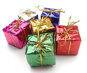 Christmas tree gift box ornaments